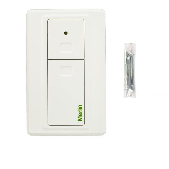 E138M Wireless Wall Button Front