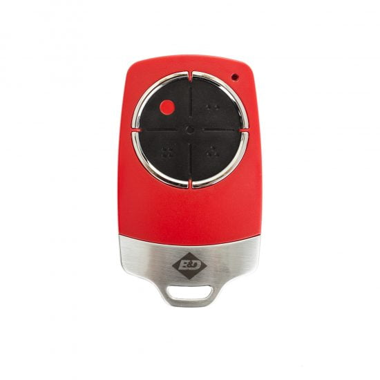 B&D TB6 Red Remote Control Transmitter Front