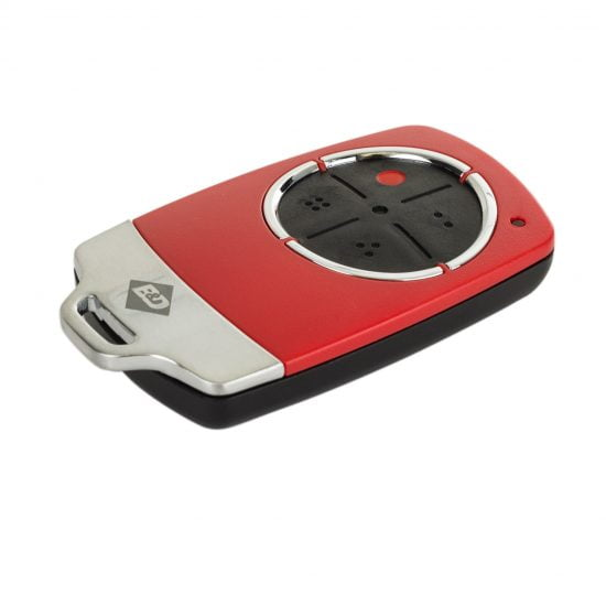 B&D TB6 Red Remote Control Transmitter Angle
