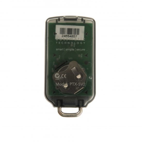 ATA PTX5 Garage Door Remote PTX5v2 PTX5v1 Back