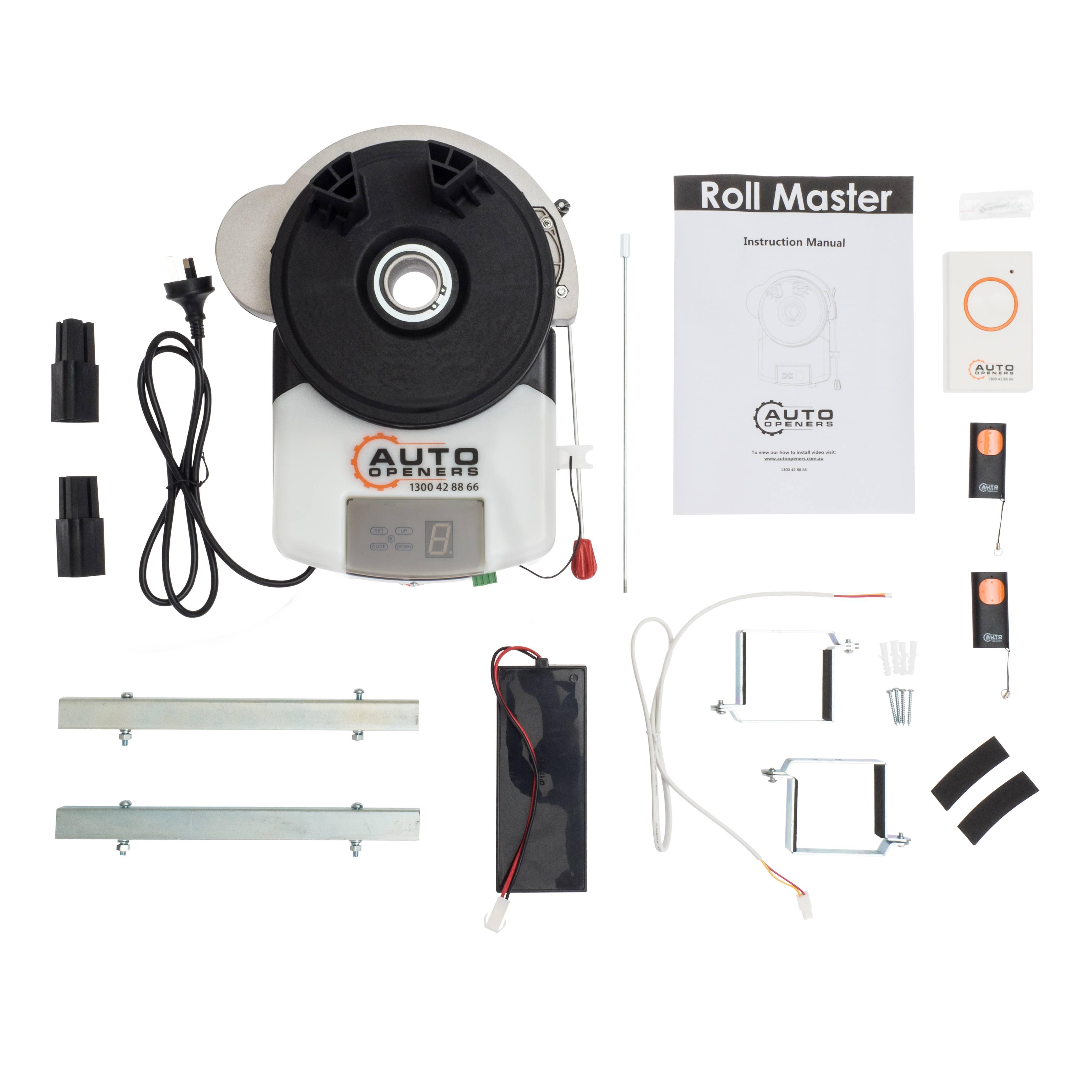 Garage Roller Door Opener Auto Openers™ GDO5 Motor Rolling ...