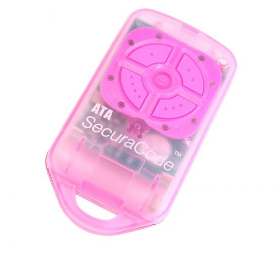ATA PTX4 Pink Garage Door Remote SecuraCode