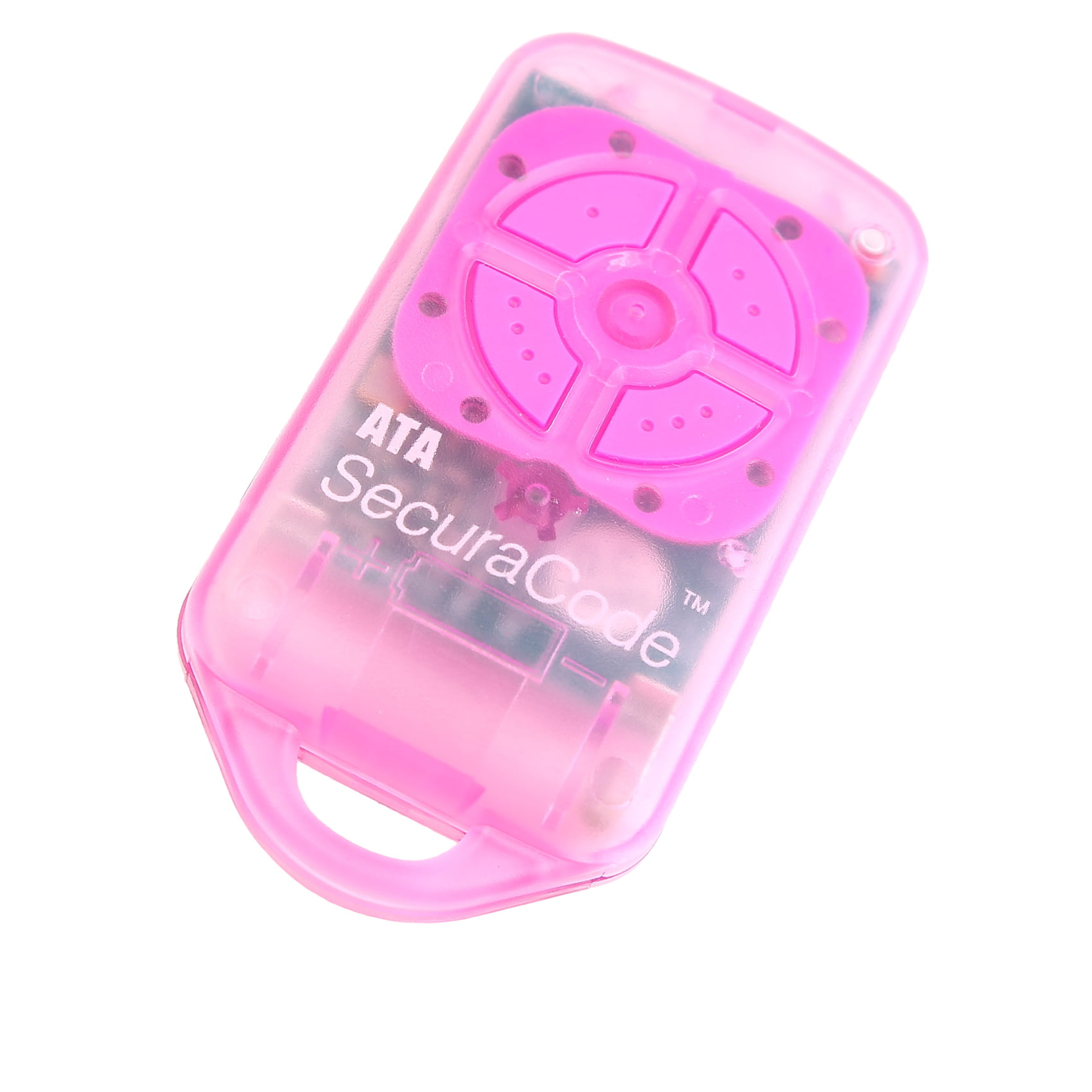 Ata Ptx4 Pink Garage Door Remote Securacode National Garage