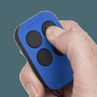 PTX4 Garage Opener Remote Blue