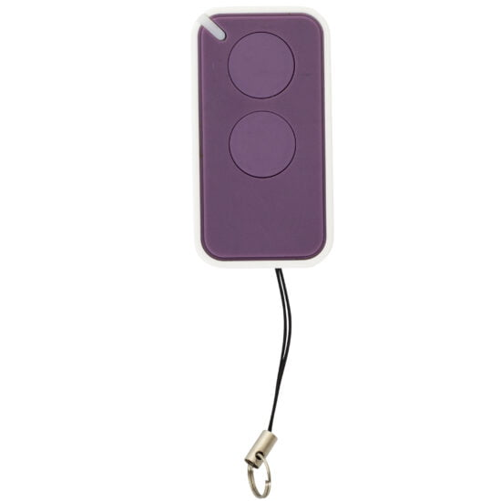 Nice Era Inti Purple Garage Door Remote Control Front