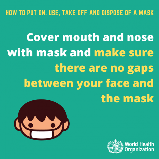 How To Put On Face Mask 2