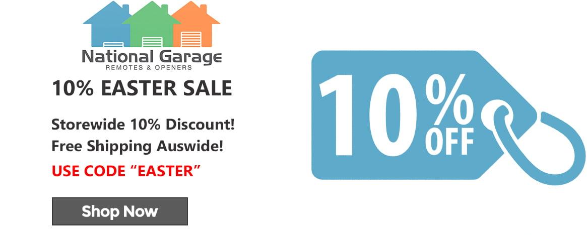 10% Discount Banner Website National Garage