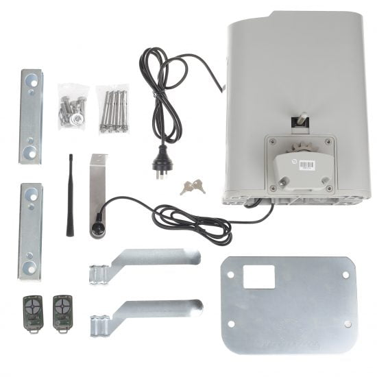ATA NeoSlider Sliding Gate Opener 500 Kit Contents