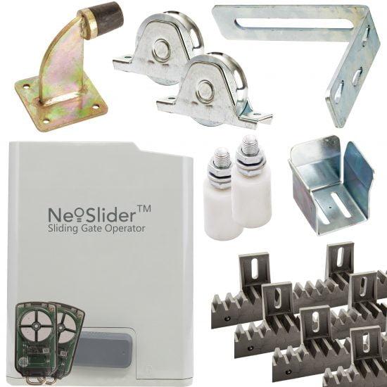ATA NeoSlider Sliding Gate Opener 500 Gate Racking FULL Kit