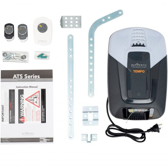 ATA ATS-3 Tempo Sectional Door Opener Kit Contents