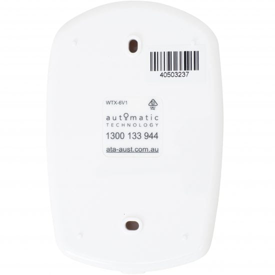 ATA WTX6 Wireless Wall Button Rear