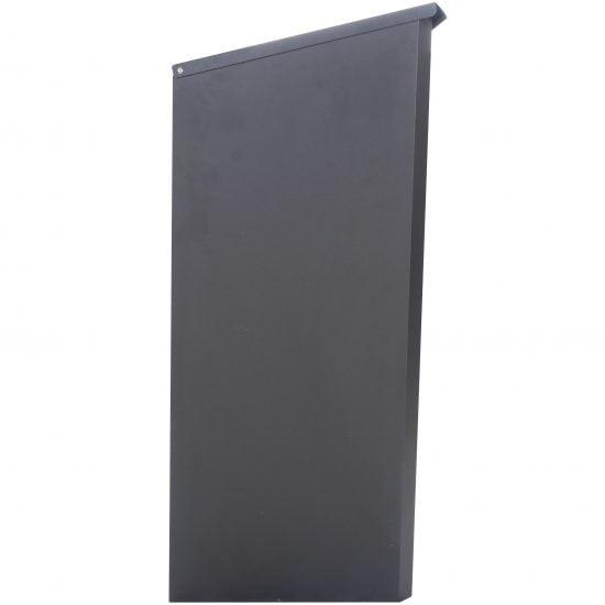 Lockable Free Standing Pillar Letter Parcel Box Locking Side