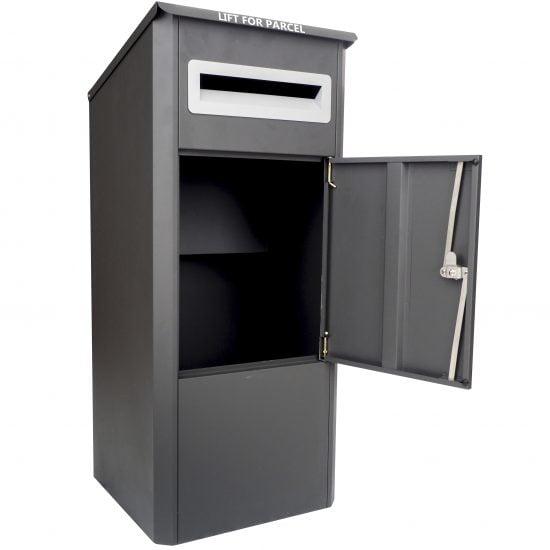 Lockable Free Standing Pillar Letter Parcel Box Door