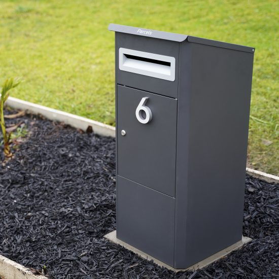 Free Standing Pillar Letterbox Lifestyle Shot 2