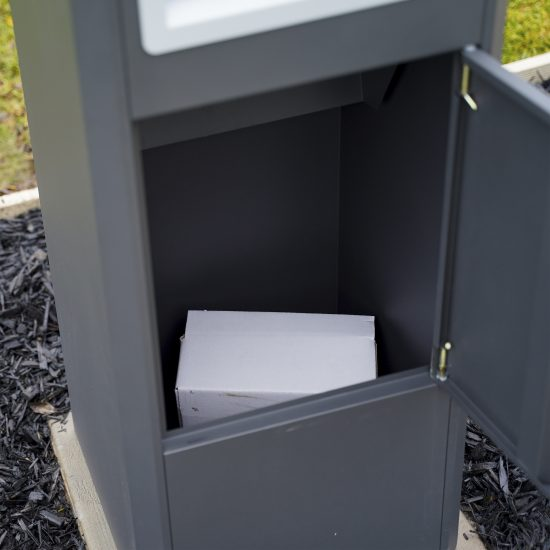 Free Standing Pillar Letterbox Lifestyle Shot 4