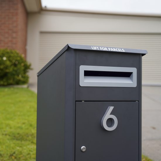 Free Standing Pillar Letterbox Lifestyle Shot 5