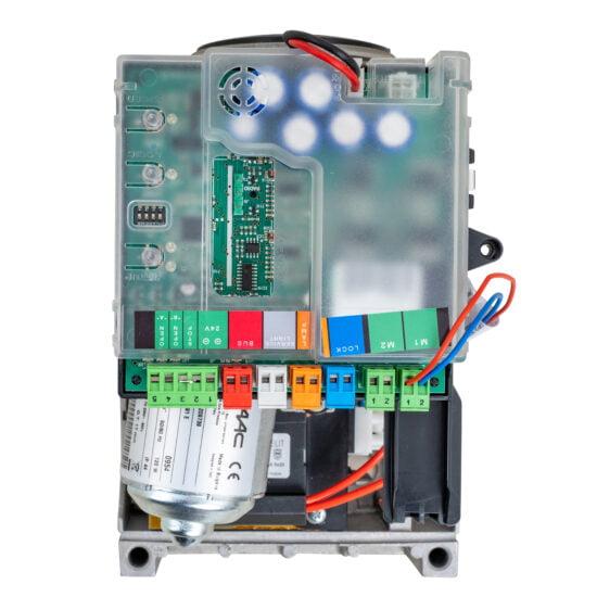 FAAC 391 Linear Swing Gate Opener Kit Circuit Board Top