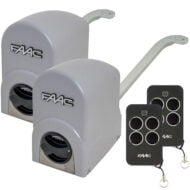 FAAC 391 Linear Swing Gate Opener Kit Dual Kit