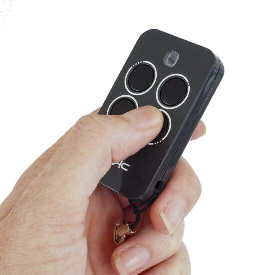 FAAC XT2 Black Remote Control Hand