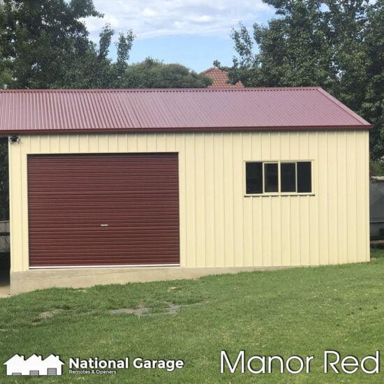 Garage Roller Doors Buy Online B&D Taurean Manor Red