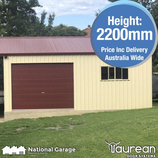Garage Roller Door 2200mm High