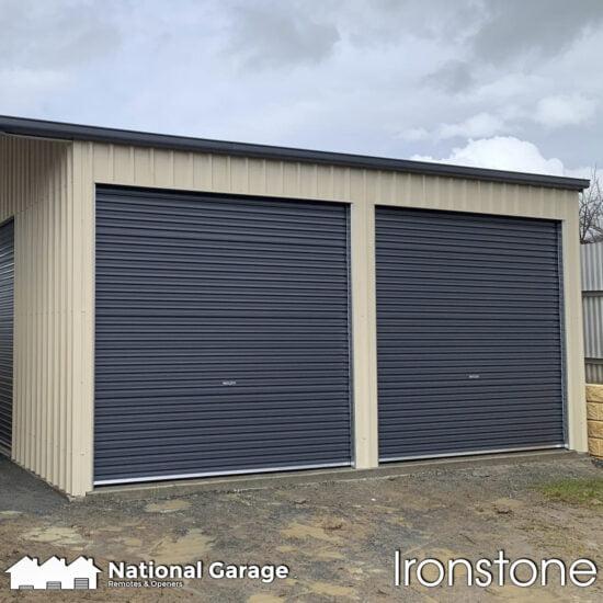 Garage Roller Doors Buy Online B&D Taurean Ironstone