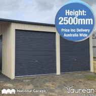 Garage Roller Door 2500mm High