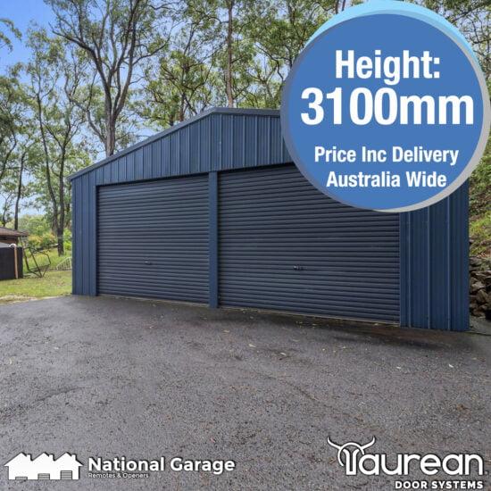 Garage Roller Door 3100mm High