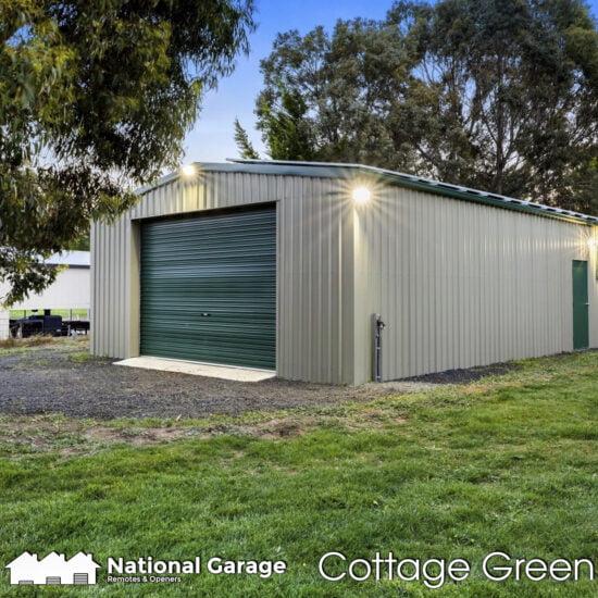 Garage Roller Doors Buy Online B&D Taurean Cottage Green