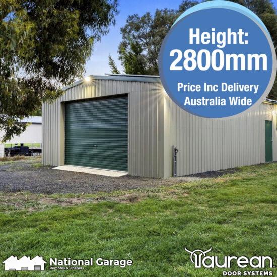 Garage Roller Door 2800mm High