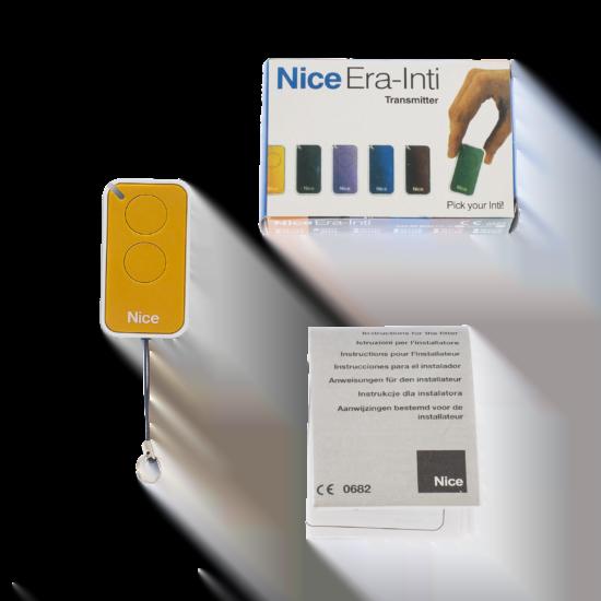 Nice Era Inti Yellow Remote Control Transmitter Kit