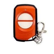 Elsema FOB40032 Orange Garage Door Remote Control Front