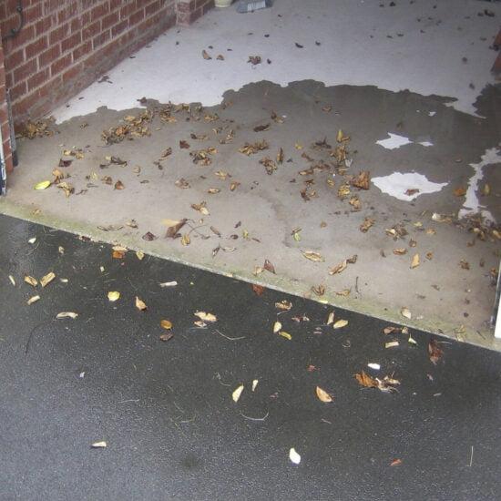 Garage Door Floor Seal No Seal Is Bad